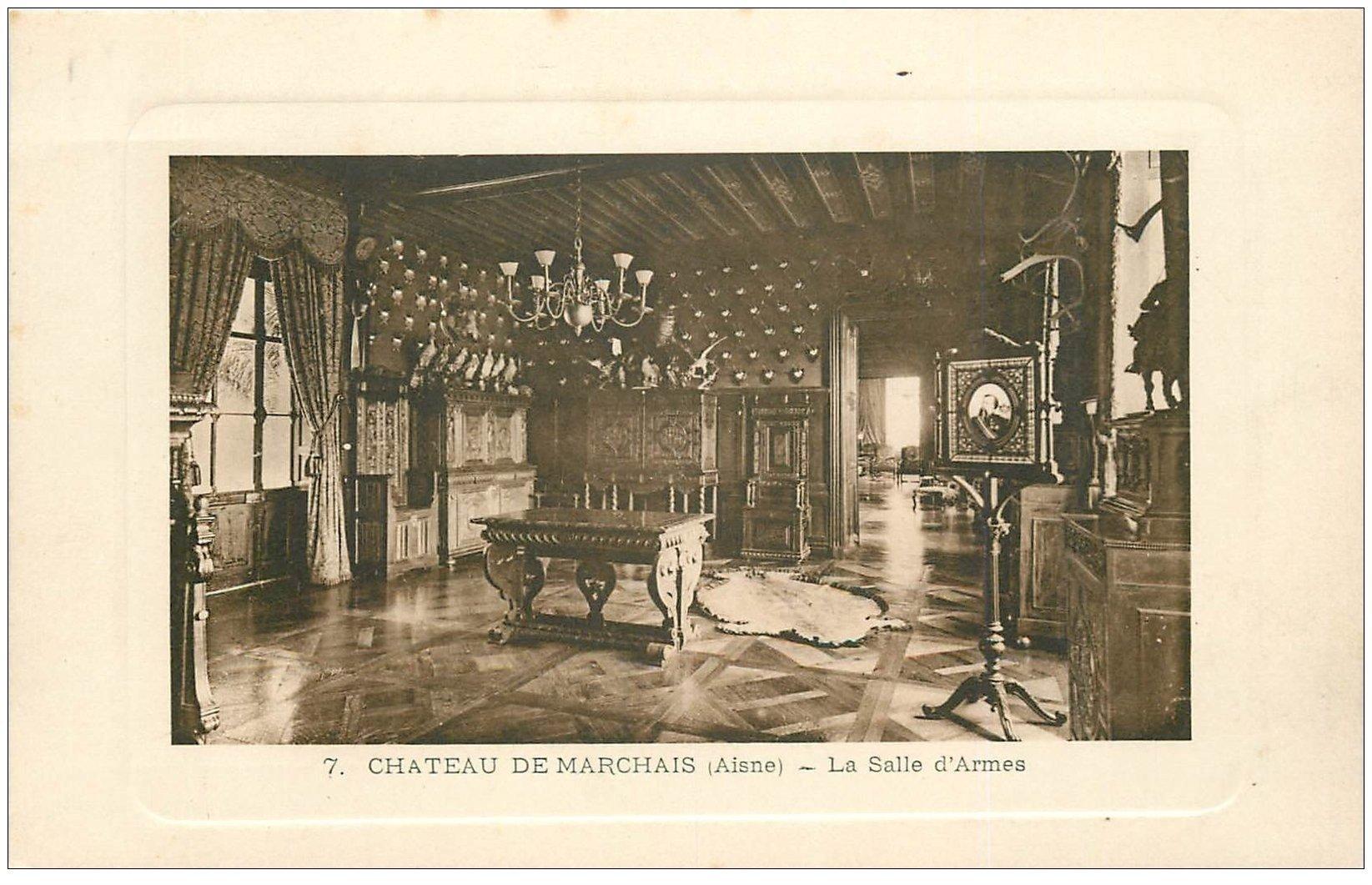 02 chateau de marchais la salle d 39 armes for Marchais 02