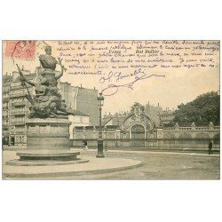 carte postale ancienne PARIS 05. Bal Bullier 1905