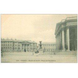 carte postale ancienne PARIS 05. Ecole de Droit Place Panthéon