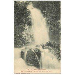 carte postale ancienne 09 VICDESSOS. Grande Cascade de Caraoucou