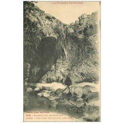 carte postale ancienne 09 Vieux Pont sur la Lauze près du Moulin