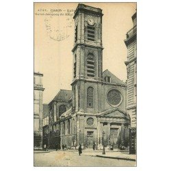 carte postale ancienne PARIS 05. Eglise Saint-Jacques du Haut 1922