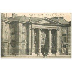 carte postale ancienne PARIS 05. Faculté de Droit 1903