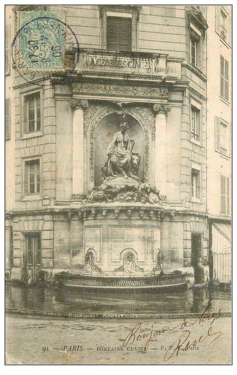 PARIS 05. Fontaine Cuvier 1906