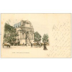 PARIS 05. Fontaine Saint-Michel. Timbre 10 centimes 1900