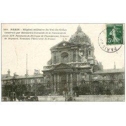 carte postale ancienne PARIS 05. Hôpital Militaire du Val de Grace 1908