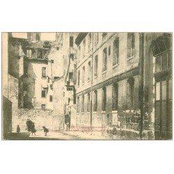 carte postale ancienne PARIS 05. Impasse des Boeufs anciennes étables des Boeufs