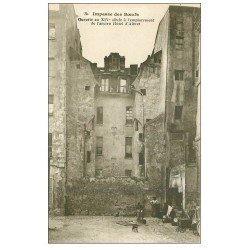 carte postale ancienne PARIS 05. Impasse des Boeufs Hôtel Albert