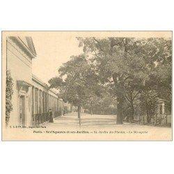 carte postale ancienne PARIS 05. Jardin des Plantes. La Ménagerie