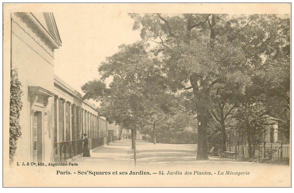 PARIS 05. Jardin des Plantes. La Ménagerie