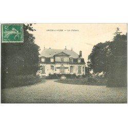 carte postale ancienne 10 ARCIS-SUR-AUBE. Le Château 1913 (défaut)