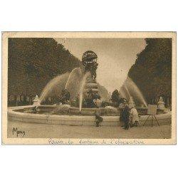 carte postale ancienne PARIS 06. Fontaine de l'Observatoire
