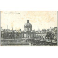 carte postale ancienne PARIS 06. Institut de France 1919