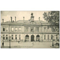 carte postale ancienne PARIS 06. La Mairie