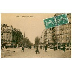 carte postale ancienne PARIS 07. Avenue Rapp 1909