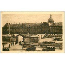 carte postale ancienne PARIS 07. Hôtel des Invalides 1933