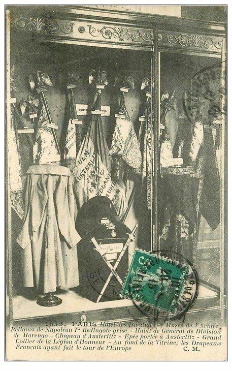 PARIS 07. Hôtel des Invalides Reliques Napoléon Ier 1915