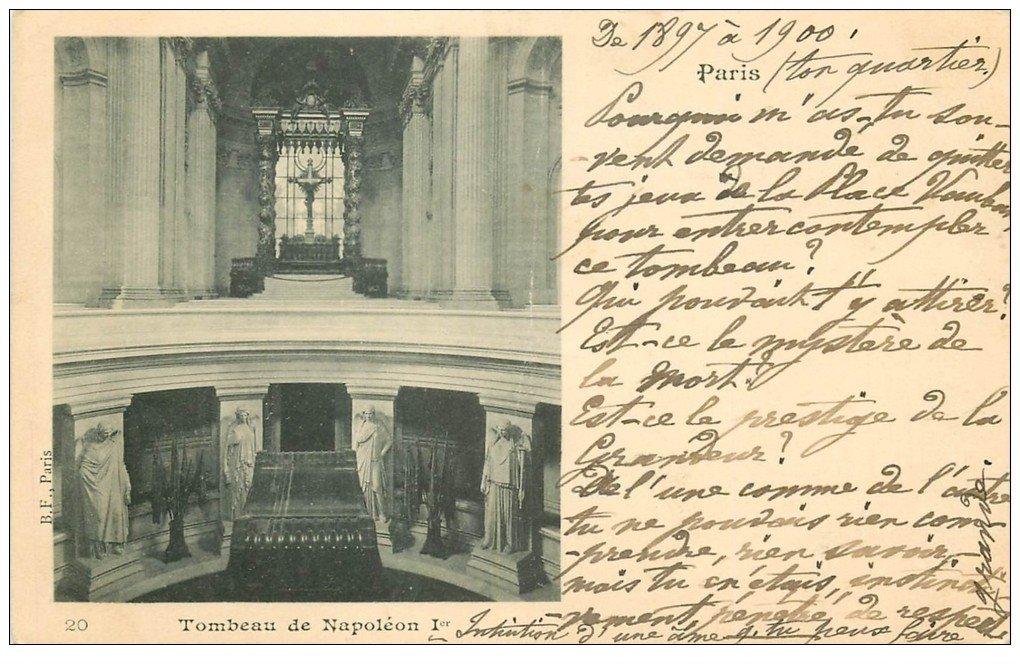 PARIS 07. Hôtel des Invalides Tombeau Napoléon Ier 1900