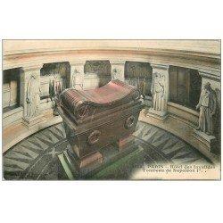 carte postale ancienne PARIS 07. Hôtel des Invalides Tombeau Napoléon Ier 1915