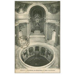 carte postale ancienne PARIS 07. Hôtel des Invalides Tombeau Napoléon Ier 1919
