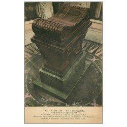 carte postale ancienne PARIS 07. Hôtel des Invalides Tombeau Napoléon Ier 325