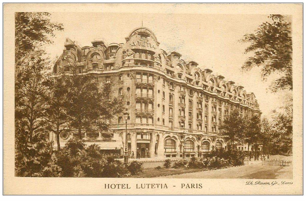 Paris 07 H Tel Lutetia