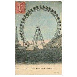 carte postale ancienne PARIS 07. La Grande Roue 869