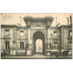 carte postale ancienne PARIS 07. La Mairie