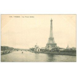 carte postale ancienne PARIS 07. La Tour Eiffel 119