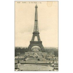 carte postale ancienne PARIS 07. La Tour Eiffel LL 1432