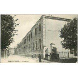 carte postale ancienne 10 BAR-SUR-AUBE. Le Collège 1916
