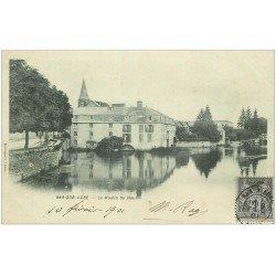 carte postale ancienne 10 BAR-SUR-AUBE. Le Moulin du Haut 1901