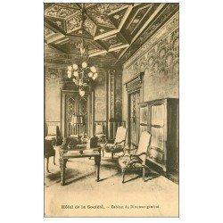 carte postale ancienne PARIS 08. Cabinet Directeur Hôtel de la Société. Mutuelle Générale Française 1939 carte Procès Verbal