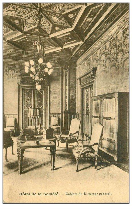 paris 08 cabinet directeur h tel de la soci t mutuelle g n rale fran aise 1939 carte proc s. Black Bedroom Furniture Sets. Home Design Ideas