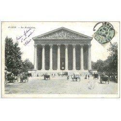 carte postale ancienne PARIS 08. Eglise Madeleine 1905