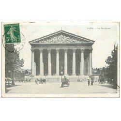 carte postale ancienne PARIS 08. Eglise Madeleine 1914