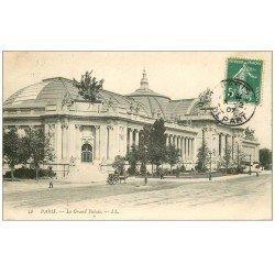 carte postale ancienne PARIS 08. Grand Palais 1907
