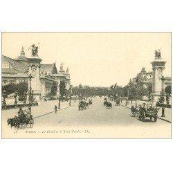 carte postale ancienne PARIS 08. Grand Palais et Petit vers 1900