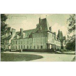 carte postale ancienne 02 CHATEAU DE MARCHAIS. Vue du Parc 1935