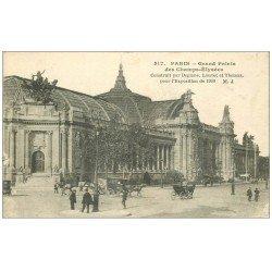 carte postale ancienne PARIS 08. Grand Palais Exposition de 1900