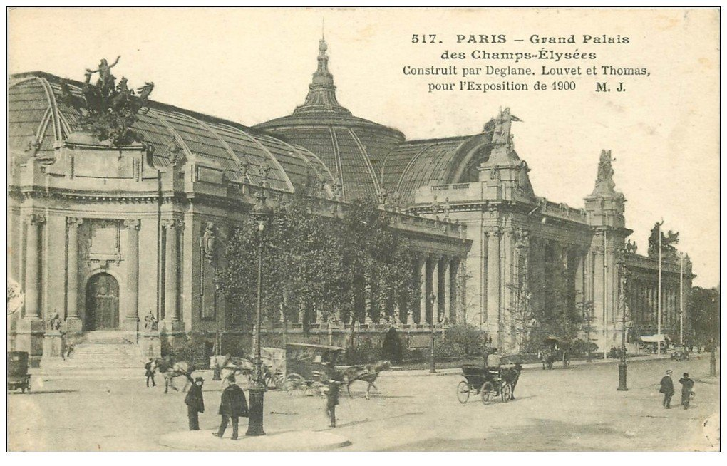 Paris 08 grand palais exposition de 1900 - Exposition paris grand palais ...