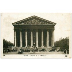 PARIS 08. La Madeleine avec Taxis