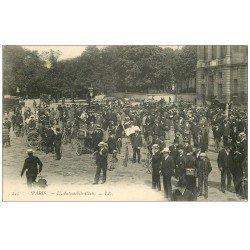 carte postale ancienne PARIS 08. L'Automobile-Club vers 1900