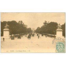PARIS 08. Les Champs-Elysées 1906