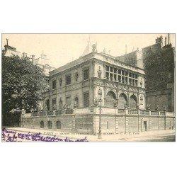 carte postale ancienne PARIS 08. Maison de François Ier rue Bayard 1904