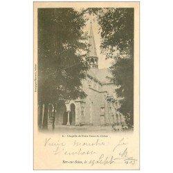 carte postale ancienne 10 BAR-SUR-SEINE. Chapelle de Notre-Dame du Chêne 1903