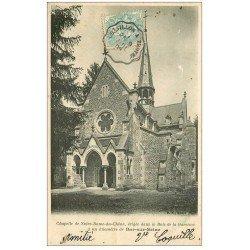 carte postale ancienne 10 BAR-SUR-SEINE. Chapelle Notre-Dame-du-Chêne Bois de la Garenne 1905