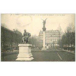 carte postale ancienne PARIS 09. Diderot Square Anvers