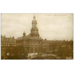 carte postale ancienne PARIS 09. Eglise de la Trinité 57