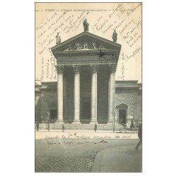 carte postale ancienne PARIS 09. Eglise Notre-Dame de Lorette 1905